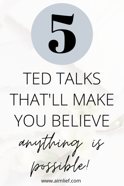 motivational ted talks