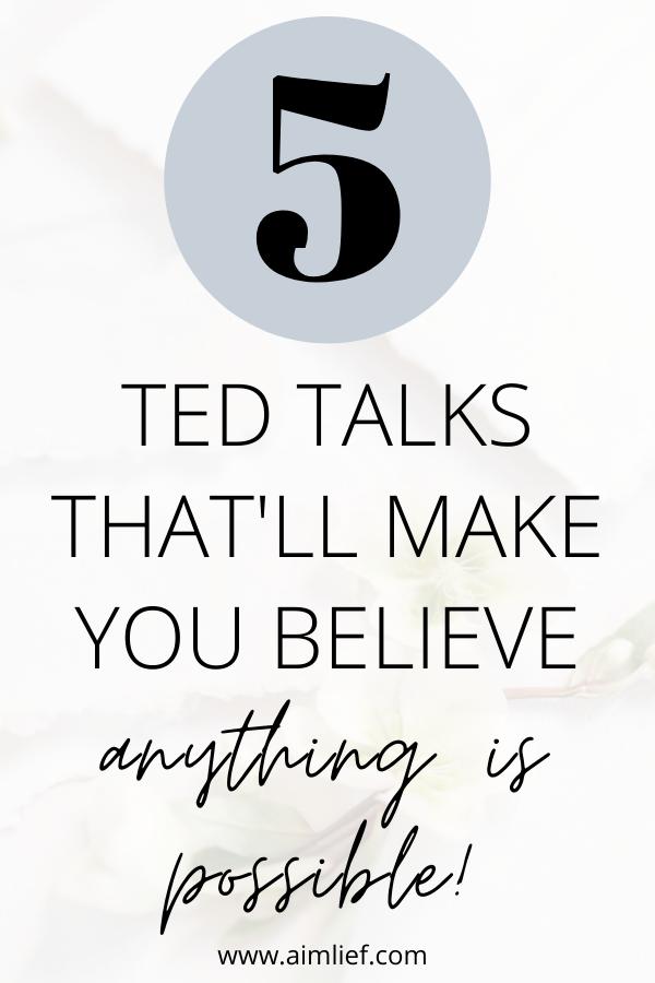motivational ted talks