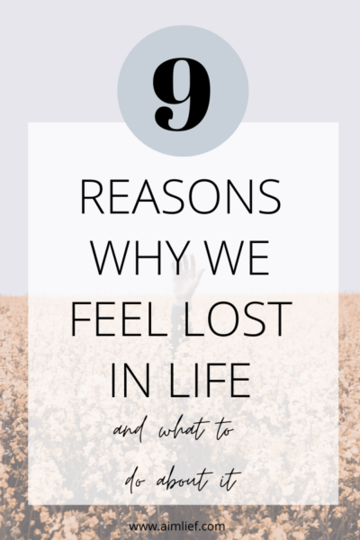 why we feel lost