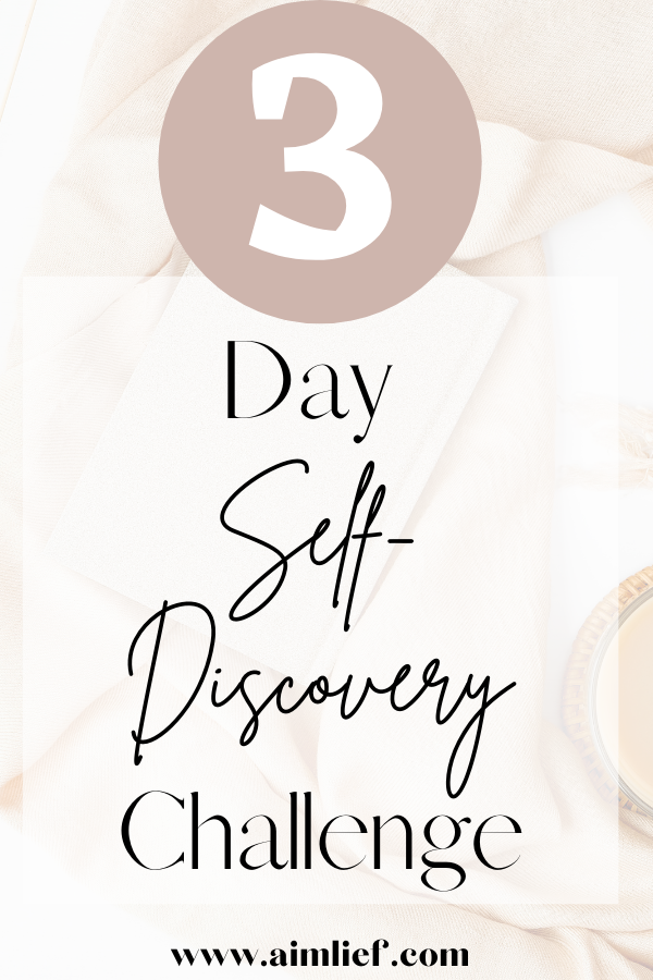 self discovery challenge