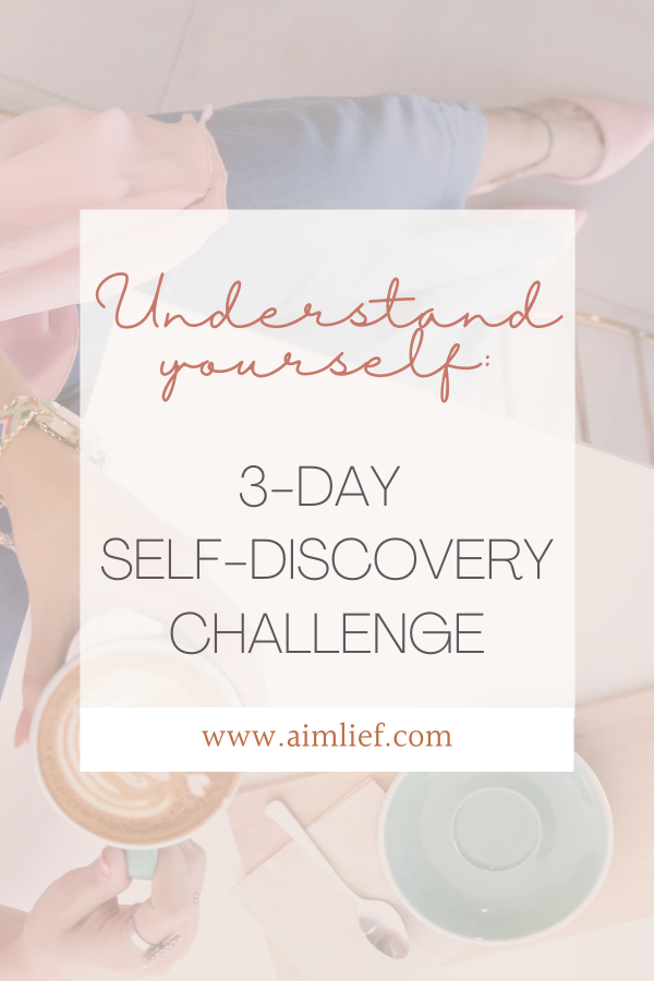 self-discovery challenge